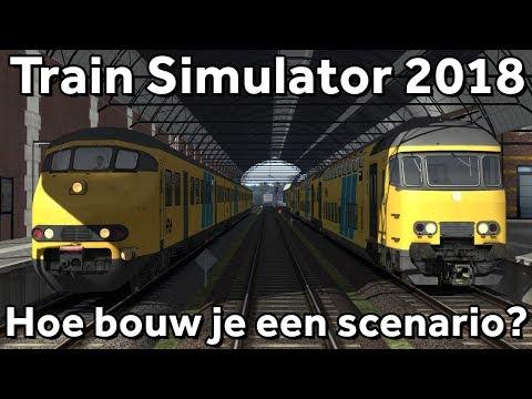 Train Simulator 2018 Tutorial Hoe bouw je een scenario