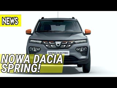 Nowa elektryczna Dacia Spring, VW Golf GTI Clubsport, Novitec Ferrari Monza SP1 - #525 NaPoboczu