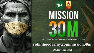 Mission 30M: ABP News stands with Robin Hood Army's fight against hunger - ABPNEWSTV
