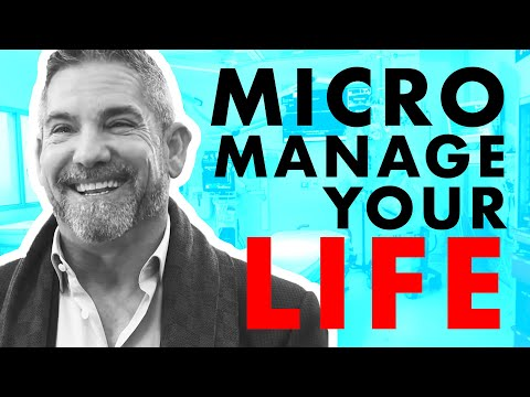 Micromanage like it's your life - Grant Cardone photo