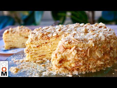 Нежнейший Торт «Наполеон»  с Заварным Кремом ( Он Просто Тает Во Рту ) #Торт