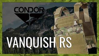 video - Nosič plátů CONDOR VANQUISH RS - Military Range CZ/SK