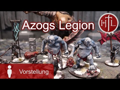 Miniatur-Sammlung Olli - Azogs Legion (Mittelerde Tabletop / Hobbit / Herr der Ringe / HdR)
