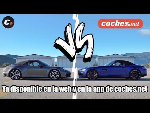 TRAILER Drag Race: Mercedes-AMG GT C Roadster vs Porsche 911 4S Cabrio | coches.net