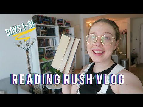READ-A-THON READING VLOG: 3 Books & 700 Pages!