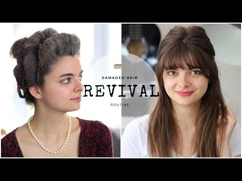 How I Restore My Hair After Historical Styling Damage