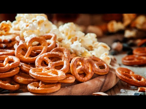 Cover photo for Homegrown | Savory Popcorn and Pretzel Snack Mix