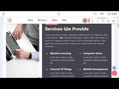 Premium Website Template | VisionM4