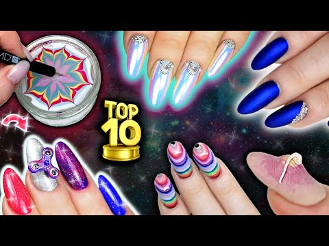 TOP 10 Nail Art Videos Of The Decade!