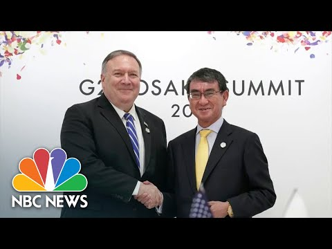 State Dept. Investigating Whereabouts Of A $5,800 Whiskey Bottle Japan Gave Pompeo