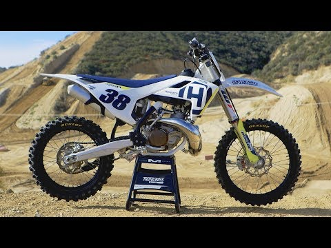 First Ride 2018 Husqvarna TC250 - Motocross Action Magazine