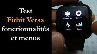 Vidéo-Test : Test Fitbit Versa