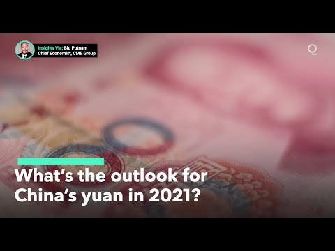 What's the Outlook for China's Yuan in 2021?