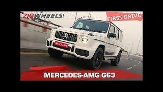 2018 Mercedes-AMG G63 Review | Demon Wears Prada | Zigwheels.com