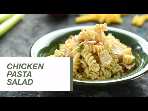 Chicken Pasta Salad | Food Channel L Recipes