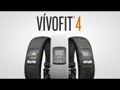 vívofit® 4 - Fitness-Tracker mit Batterie-Laufzeit von bis zu einem Jahr