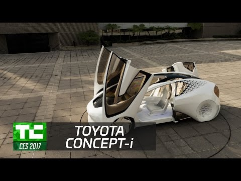 Toyota debuts its Concept-i with a built-in AI companion