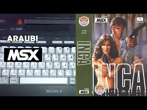 Inca (Eaglesoft, 1987) MSX [564] Walkthrough Comentado