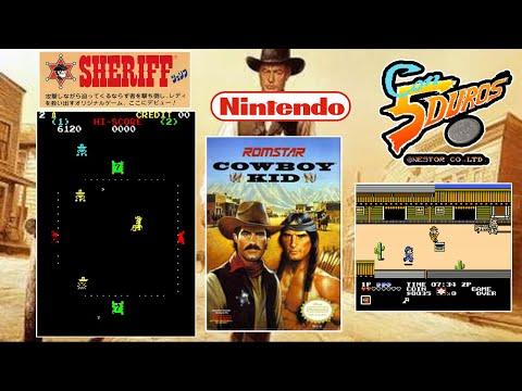 "SHERIFF  - ""CON 5 DUROS"" Episodio 914 (+ Cowboy Kid / NES / FAMICOM) (1cc) (7 loops) (CTR)"