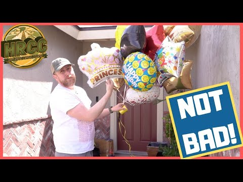 Will It Antenna?  Dollar Tree Party Balloons and Floral Wire?