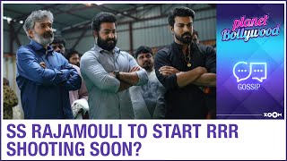 SS Rajamouli to resume the shooting of RRR post lockdown with social distancing? - ZOOMDEKHO