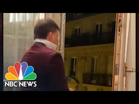 French Tenor Celebrates U.S. Presidential Election With National Anthem | NBC News NOW