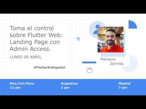 Toma el control sobre Flutter Web: Landing page con Admin Access