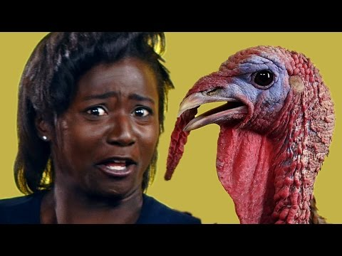 Olympians Get Surprised With A Turkey
