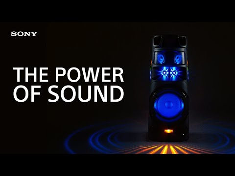 Experience the Power of Sound with the Sony MHC-V83D High Power Audio System