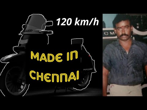 Tamil Nadu Man Made Fastest Electric Scooter in India - Blacksmith B3