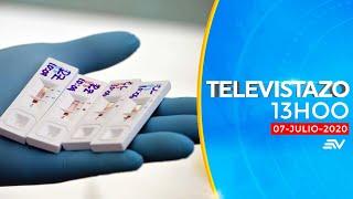 Televistazo 13h00 8/julio/2020 - Noticias Ecuador