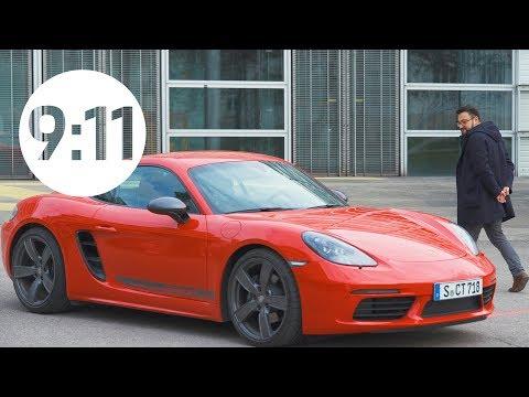 Porsche 718 T – groundbreakingly purist, like Bauhaus.