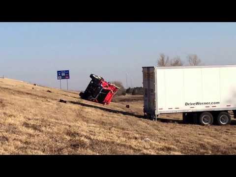 Three vehicle crash at mile post 91 on Interstate 135.