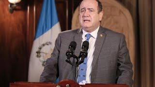 Presidente Giammattei informó de 247 nuevos casos de covid-19