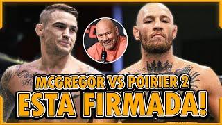 Conor McGregor LISTO para REGRESAR en UFC 256, Dustin Poirier YA FIRMO, McGregor vs Poirier 2