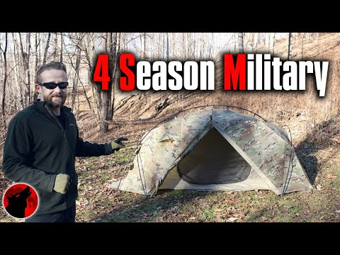 Next Generation Military Tent - Litefighter Catamount 2 Military Tent - First Look