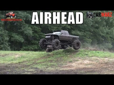 AIRHEAD Green Ford Getting Some Air At Bentley Lake Road Mud Bog Fall 2018