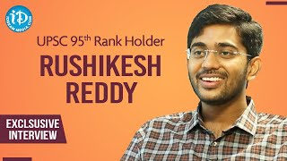UPSC 95th Rank Holder Rushikesh Reddy Exclusive Interview | Dil Se With Anjali #226 | iDream Movies - IDREAMMOVIES