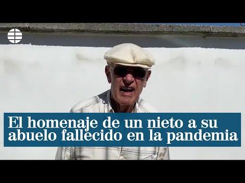 El sentido homenaje de un nieto a su abuelo italiano fallecido en la pandemia