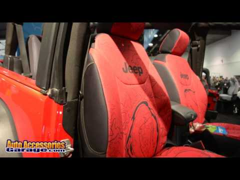Coverking Topographical Map Seat Covers