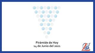 Pirámide del 14 de Junio del 2021 (Pirámide de la suerte, Pirámide del día, Pirámide de Hoy)