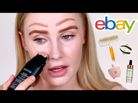 Trying Out Terrible + AMAZING eBay Makeup! | Lauren Curtis