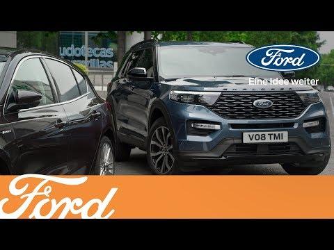 Überlassen Sie das Parken dem Explorer | Ford Austria