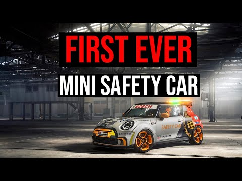 MINI Electric Pacesetter | The First Ever MINI Safety Car