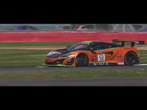 McLaren 650S GT3 at Silverstone - Blancpain Endurance Cup, May 2017