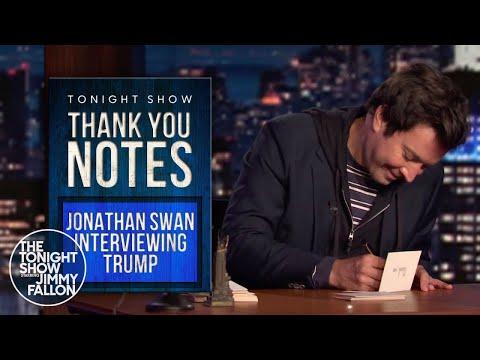 ThankYouNotes: Jonathan Swan Interviewing Trump, Cookie Dough Bites