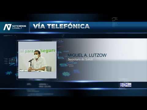 LUNES 13 SEPTIEMBRE 2021 ENTREVISTA CON DR. MIGUEL ANGEL LUTZOW STEINER SECRETARIO DE SALUD