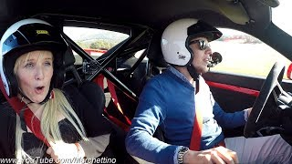 My Girlfriend's Reaction to the Porsche 991 GT3 – Her First Trackday! [Sub ENG]