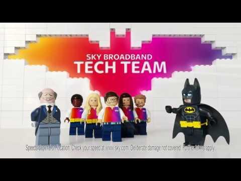 Sky Broadband & The Lego Batman Movie ad: Bat Bored