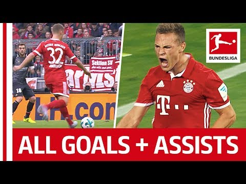 Joshua Kimmich - All Goals & Assits So Far...